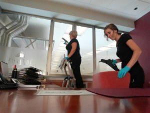Limpieza y salud en empresa
