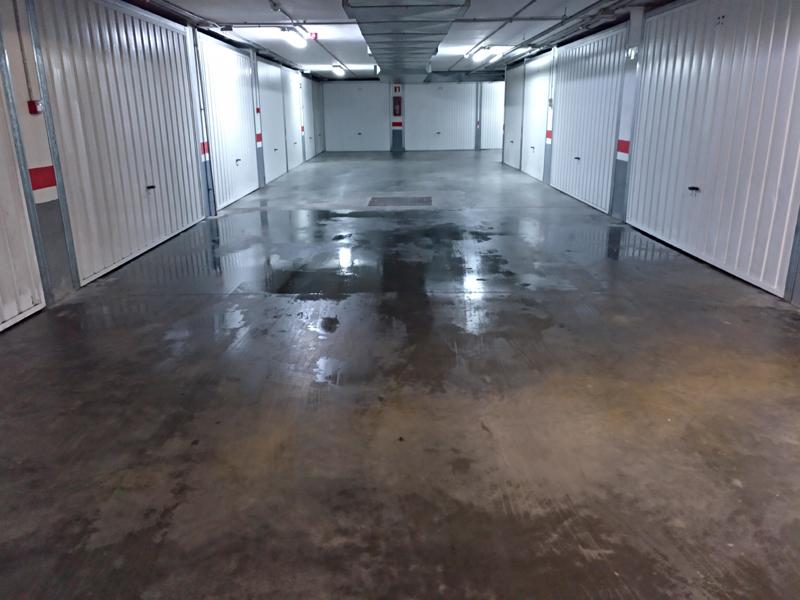 Condensación en garajes