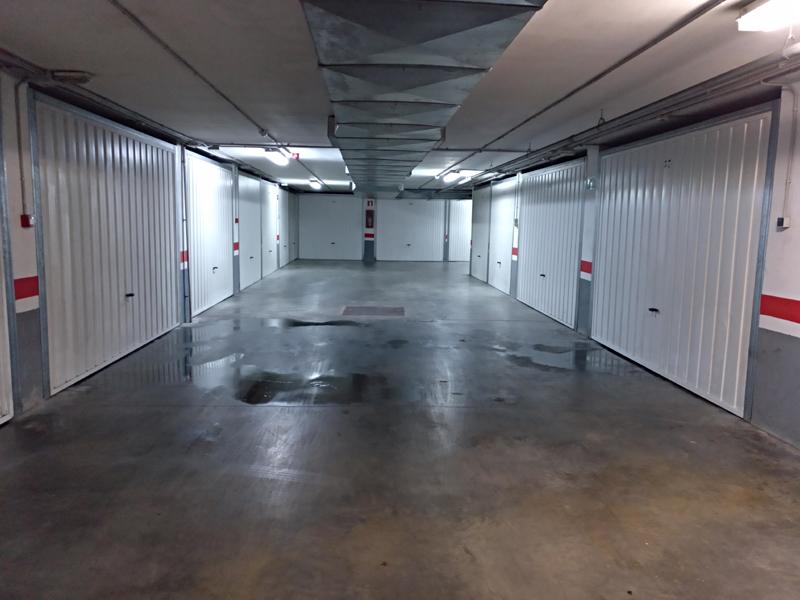 Humedad en garaje